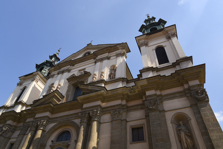 The Church of St. Anne  in the historic centre of Krakow, Poland is attached to the Jagiellonian University Editorial