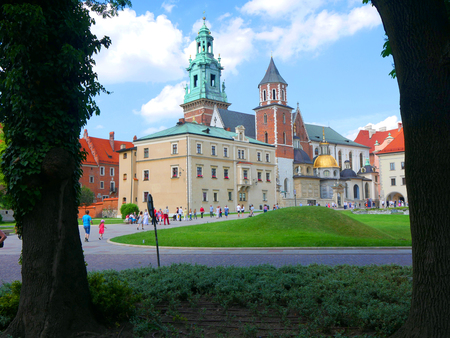 The Royal Wawel Castle in Krakow Poland is top of the tourist sites in this fascinating city