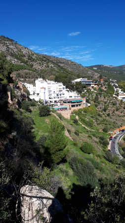 In Mijas in the Mountains above the Costa del Sol in Spain Editorial