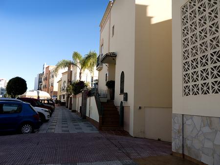 Quiet Street in Nerja on the Costa del Sol