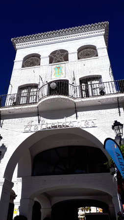 Town Hall in Nerja on the Costa del Sol in Spain
