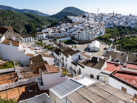 Complex of villas and apartments on the outskirts of Nerja in Southern Spain