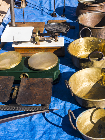 The Sunday Flea market on the Feria Ground in Fuengirola on the Costa del Sol in Spain is where one persons Junk is anothers Treasure. Fascinating