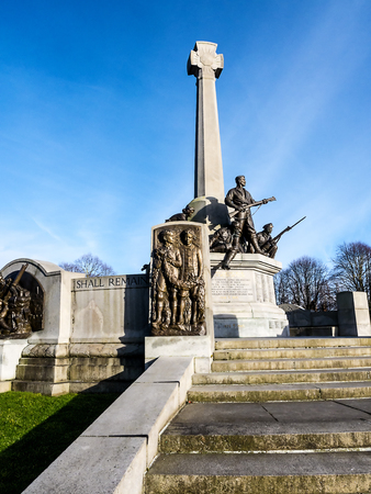 War memorial on the Wirral Cheshire