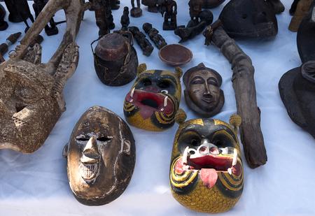 Items on the weekly flea Market in Fuengirola