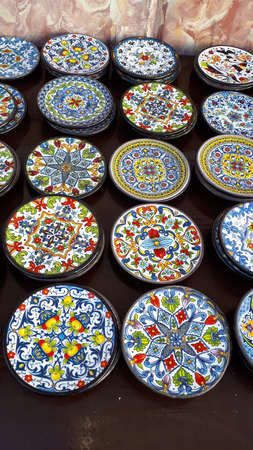 pottery in Mijas in the Mountains above the Costa del Sol