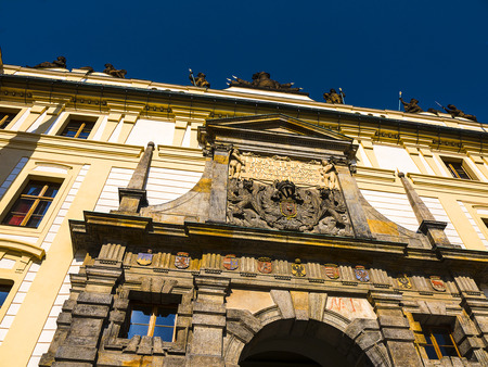 The Royal Castle in Prague overlooks the city
