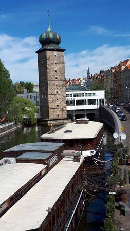 The River Vltava that runs through the city of Prague