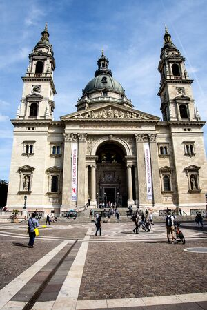 St. Stephens Basilica in Budapest, Hungary is named in honour of St Istvan, the first King of Hungary. It can hold up to 8,500 people