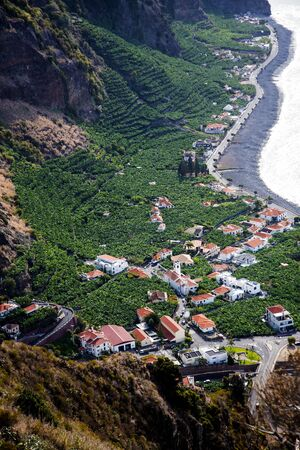 The island of Madeira has some of the highest cliffs in the world Stockfoto