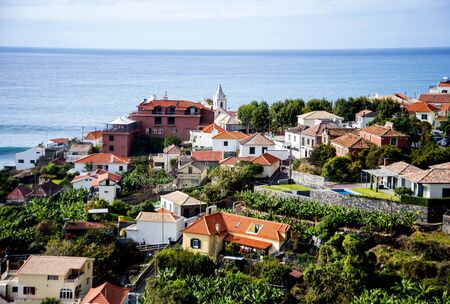 the South West landscape of the island of Madeira