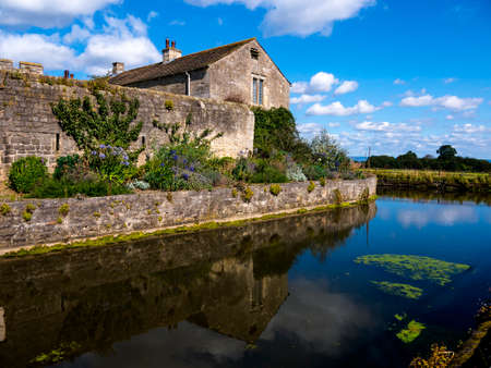 Markenfield Hall is 3 miles south of Ripon in north Yorkshire. It is a moated Tudor Manor House