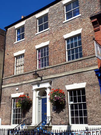 Ripon in North Yorkshire has many lovely examples of Georgian domestic architecture and some architecture from medieval and tudor times.