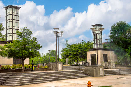 The memorial park commemorates the fact that Tennessee was admitted to the Union as the 16th state on June 1, 1796. Editorial