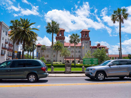 The Lightner Museum in St Augustine Florida USA Editorial
