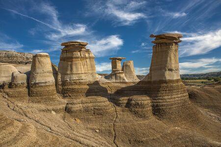 hoodoos: hoodoos geological wind sculptures