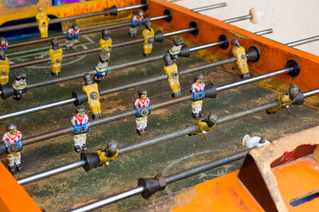 Fútbol de mesa  Foto de archivo - 31972145