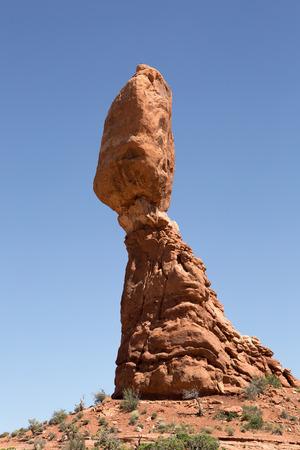 balancing rock in Utah