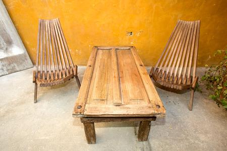 Reclaimed: furnuture made of reclaimed wood