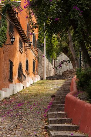 de': rustic street deetails in San Miguel de Allende, Mexico