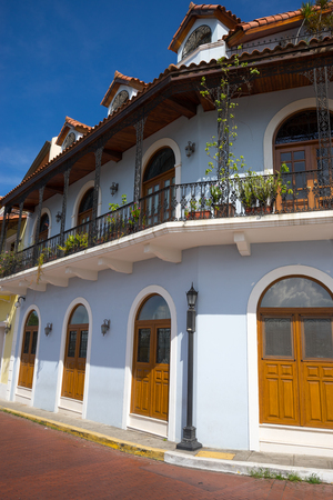 building exteriors: colonial architecture in Casco Viejo Panama