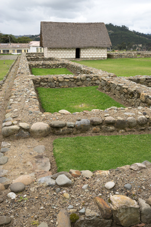 cuenca: ruins at the Pumapungo site in Cuenca Ecuador