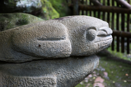 ancient statue in San Agustin Colombia