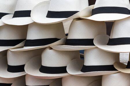 Panama hat closeup