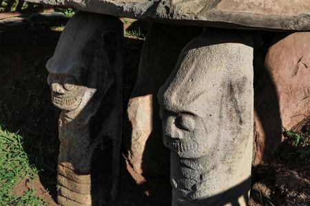 San Agustin archeological site Colombia