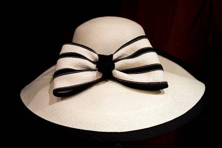 womens panama hat closeup in Ecuador