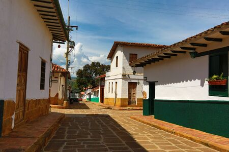 July 22, 2017 Barichara, Colombia: the very popular colonial tourist town is suffering from severe water shortage Editorial
