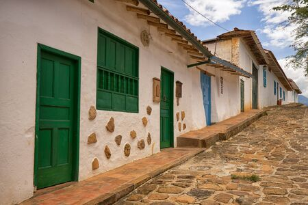 July 22, 2017 Barichara, Colombia: the very popular colonial tourist town is suffering from severe water shortage caused by overpopulation