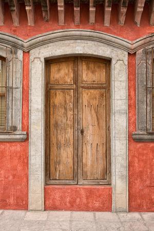 November 19, 2014 San Miguel de Allende, Mexico: colonial architecture is a main feature of the popular tourist destination town