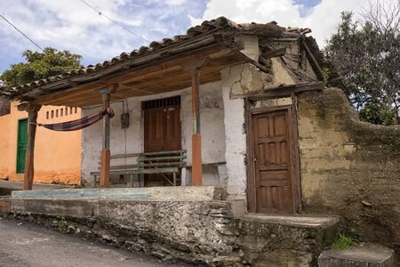 March 12, 2017 Vilcabamba, Ecuador: old rustic architecture all through the popular tourist destination town