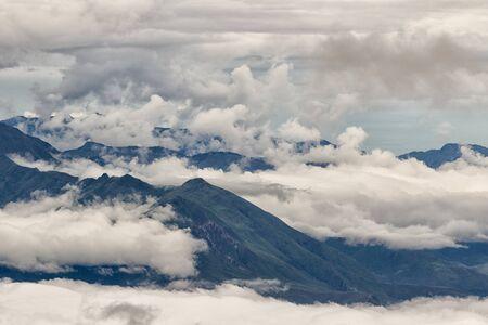 the Andes in Ecuador