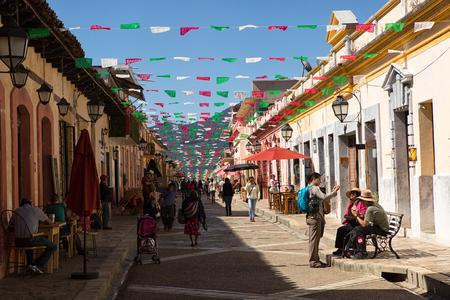 December 3, 2014 San Cristobal de las Casas, Mexico: the colonial town is a very popular turist attraction Editöryel