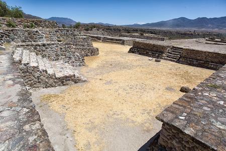 ヤグル オアハカ メキシコの遺跡