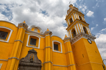 Cholula, Mexico is known for its high number of church and chapel buildings throughout the town