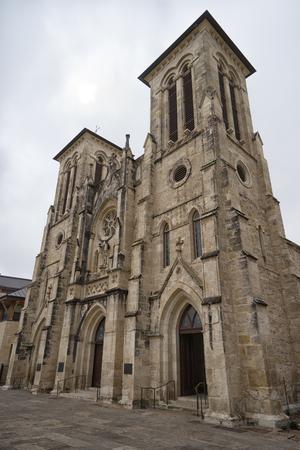 2016 年 1 月 8 日サン ・ アントニオ: サン フェルナンド大聖堂はアメリカ合衆国で最も古いアクティブな大聖堂の一つです。 報道画像