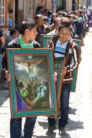 Easter procession in Guatemala