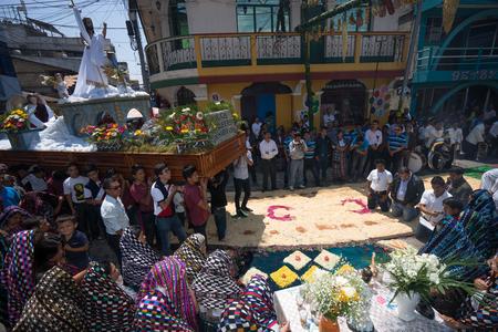 Easter celebration in San Pedro la Laguna, Guatemala.