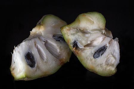 soursop fruit closeup