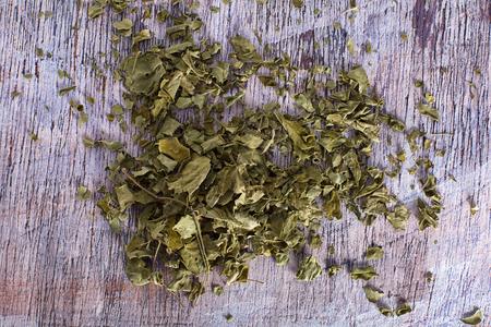 dried moringa tea 版權商用圖片