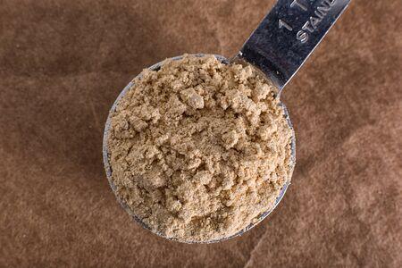 maca root powder 写真素材