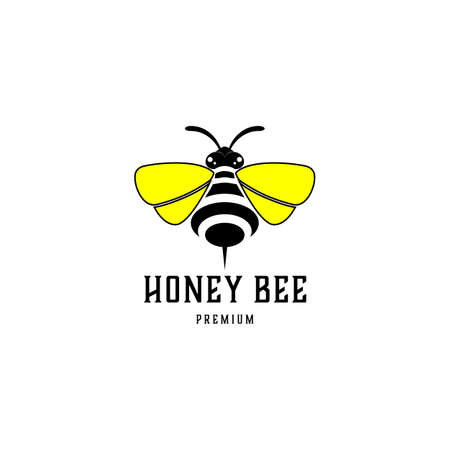 Elegant Honey Bee Designs Concept Vector
