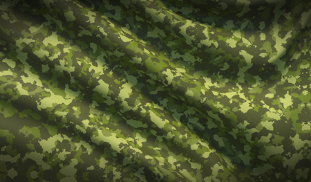 Military war background camouflage khaki fabric texture Banco de Imagens