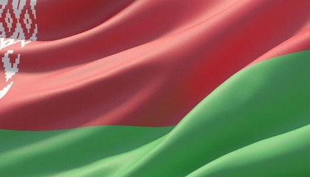 Background with flag of Belarus