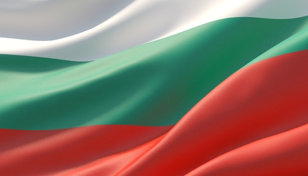 Background with flag of Bulgaria
