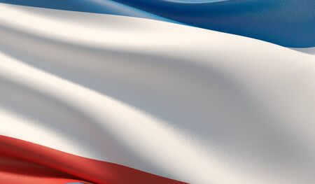 Background with flag of Crimea Stock fotó