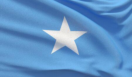Background with flag of Somalia